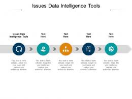 Issues Data Intelligence Tools Ppt Powerpoint Clipart Cpb