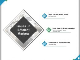Issues In Efficient Markets Ppt Powerpoint Presentation File Summary