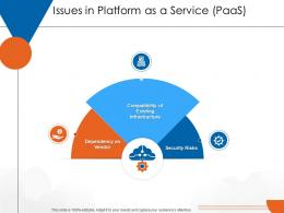 Issues In Platform As A Service PaaS Cloud Computing Ppt Structure