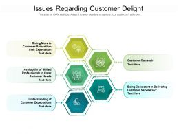 Issues Regarding Customer Delight