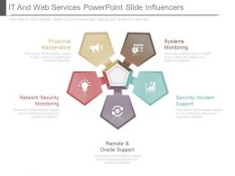 It And Web Services Powerpoint Slide Influencers