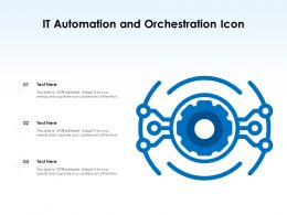 It Automation And Orchestration Icon