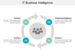 IT Business Intelligence Ppt Powerpoint Presentation Summary Infographic Template Cpb
