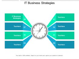 IT Business Strategies Ppt Powerpoint Presentation Summary Ideas Cpb