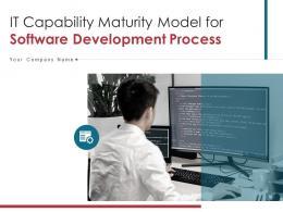 It Capability Maturity Model For Software Development Process Powerpoint Presentation Slides