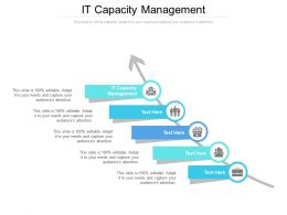 IT Capacity Management Ppt Powerpoint Presentation Guide Cpb