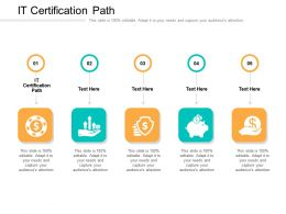 IT Certification Path Ppt Powerpoint Presentation Infographic Template Rules Cpb