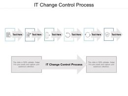 It Change Control Process Ppt Powerpoint Presentation Pictures Portfolio Cpb