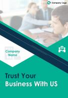 It Consulting Four Page Brochure Template