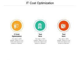 It Cost Optimization Ppt Powerpoint Presentation Visual Aids Deck Cpb