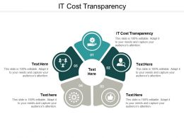 It Cost Transparency Ppt Powerpoint Presentation Inspiration Infographics Cpb