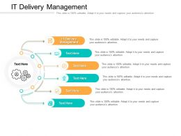 IT Delivery Management Ppt Powerpoint Presentation Slides Influencers Cpb