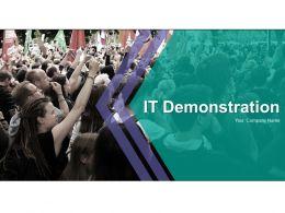It Demonstration Powerpoint Presentation Slides