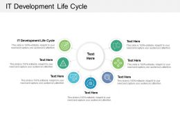 It Development Life Cycle Ppt Powerpoint Presentation Show Shapes Cpb