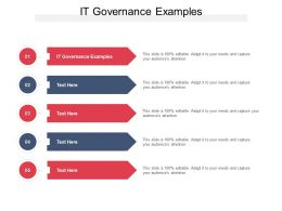 IT Governance Examples Ppt Powerpoint Presentation Slides Demonstration Cpb