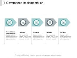 IT Governance Implementation Ppt Powerpoint Presentation Styles Guide Cpb