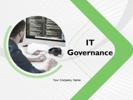 It Governance Powerpoint Presentation Slides