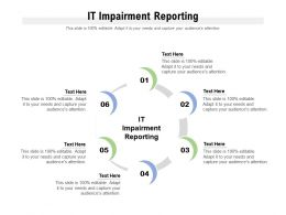 IT Impairment Reporting Ppt Powerpoint Presentation Professional Design Inspiration