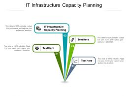 IT Infrastructure Capacity Planning Ppt Powerpoint Presentation Ideas Introduction Cpb