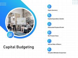 IT Infrastructure Management Capital Budgeting Ppt Powerpoint Presentations Grid