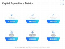 IT Infrastructure Management Capital Expenditure Details Ppt Powerpoint Objects