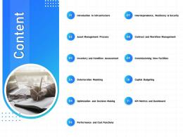 IT Infrastructure Management Content Ppt Powerpoint Presentation File Backgrounds