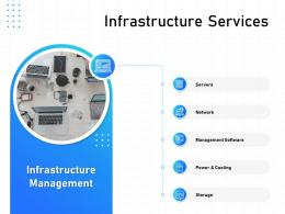 IT Infrastructure Management Infrastructure Services Ppt Powerpoint Elements