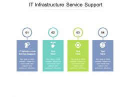 IT Infrastructure Service Support Ppt Powerpoint Presentation Slides Rules Cpb