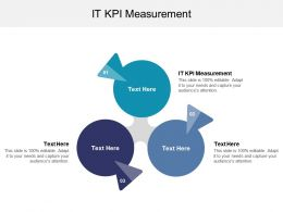 It KPI Measurement Ppt Powerpoint Presentation Gallery Guidelines Cpb