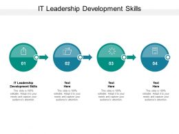 IT Leadership Development Skills Ppt Powerpoint Presentation Portfolio Microsoft Cpb