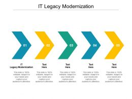 IT Legacy Modernization Ppt Powerpoint Presentation Influencers Cpb
