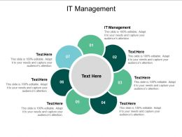 IT Management Ppt Powerpoint Presentation Show Example Cpb