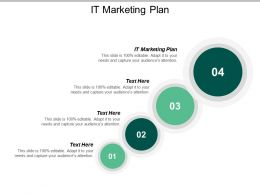 It Marketing Plan Ppt Powerpoint Presentation Icon Design Ideas Cpb