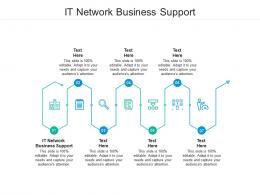 IT Network Business Support Ppt Powerpoint Presentation Ideas Graphic Images Cpb