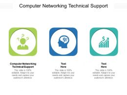 IT Networking Technical Services Ppt Powerpoint Presentation Infographics Images Cpb