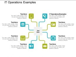 It Operations Examples Ppt Powerpoint Presentation Pictures Good Cpb