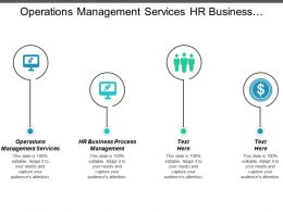 It Operations Management Services Hr Business Process Management Cpb