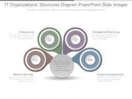 It Organizational Structures Diagram Powerpoint Slide Images