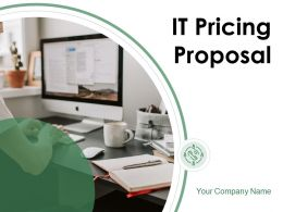 IT Pricing Proposal Powerpoint Presentation Slides