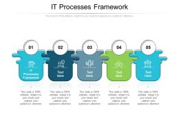 IT Processes Framework Ppt Powerpoint Presentation Styles Model Cpb