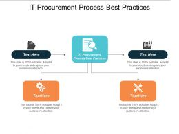 It Procurement Process Best Practices Ppt Powerpoint Presentation Styles Layouts Cpb
