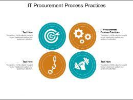 IT Procurement Process Practices Ppt Powerpoint Presentation Icon Slide Cpb