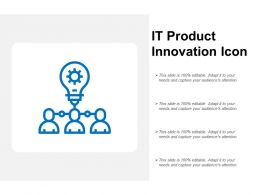 It Product Innovation Icon