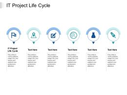 IT Project Life Cycle Ppt Powerpoint Presentation Summary Deck Cpb