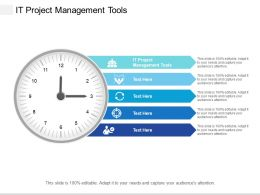 It Project Management Tools Ppt Powerpoint Presentation Pictures Maker Cpb