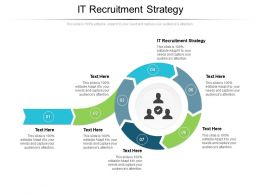 IT Recruitment Strategy Ppt Powerpoint Presentation Summary Maker Cpb