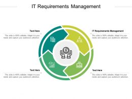 IT Requirements Management Ppt Powerpoint Presentation Summary Graphic Tips Cpb