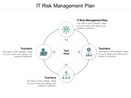 It Risk Management Plan Ppt Powerpoint Presentation Show Clipart Images Cpb