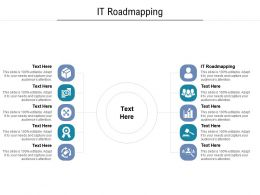 IT Roadmapping Ppt Powerpoint Presentation Professional Images Cpb