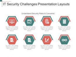 It Security Challenges Presentation Layouts
